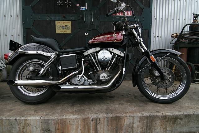 Freedom Harley Davidson >> 1978年式FXEショベルヘッドスーパーグライド